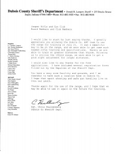 DCSD Thank-You Letter